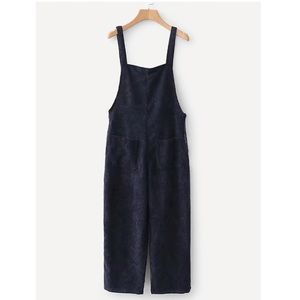 Other - Navy blue corduroy jumpsuit